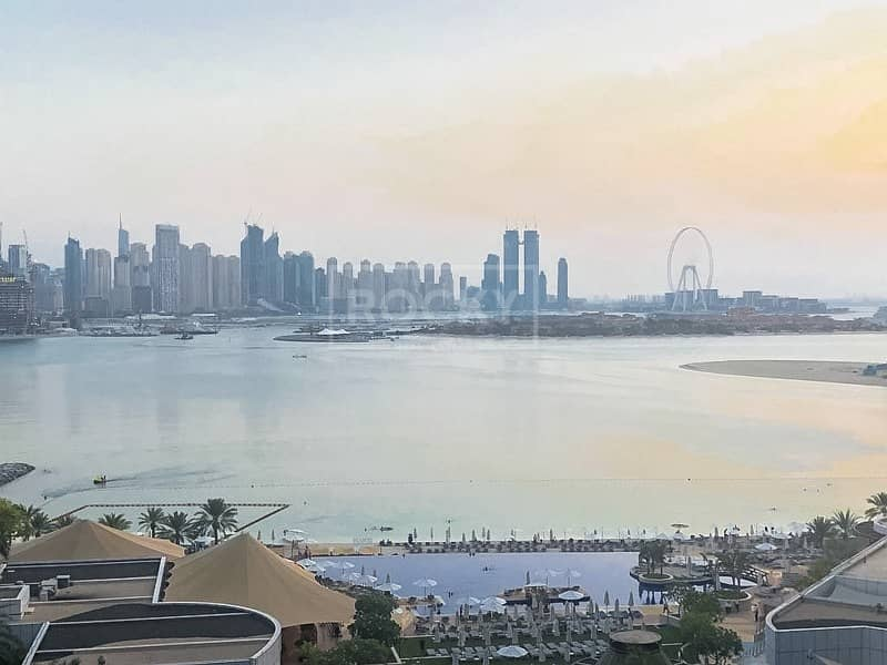 10 Exclusive|1 Bed with Full Sea View|Oceana Atlantic Palm Jumeirah