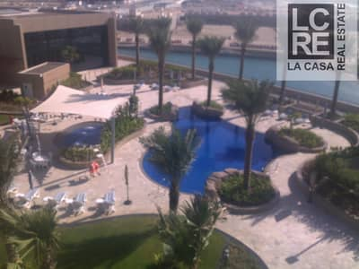 2 Bedroom Apartment for Rent in Al Raha Beach, Abu Dhabi - Luxury Corner unit 2br with Pool View