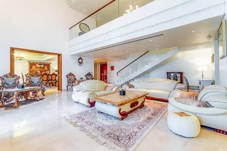 بنتهاوس 4 غرفة نوم للايجار في نخلة جميرا، دبي - Luxury Furnished Duplex Penthouse | Huge Terrace