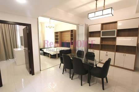 1 Bedroom Flat for Rent in Al Furjan, Dubai - Payable in 4 Chqs 1BR Converted to 2BR Furnished