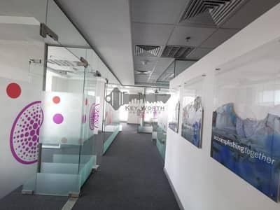 مکتب  للايجار في شارع الشيخ زايد، دبي - BEAUTIFULLY FITTED PARTITIONED OFFICE IN THE PRIME LOCATION NEAR TO METO