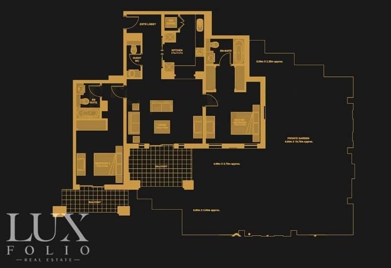 2 |OT Specialist | Upgraded | Huge Garden |Burj V|