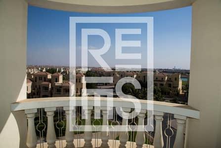 Studio for Rent in Al Hamra Village, Ras Al Khaimah - Rent Studio with magnificent Lagoon View in 12 cheques