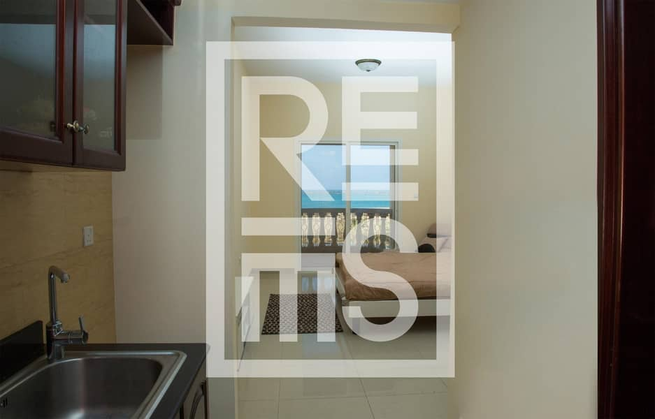 2 Best Price for Semi Furnished Sea View Studio
