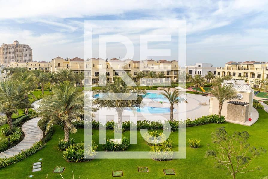 9 Bayti 3BR Villa with  Pool View for Sale