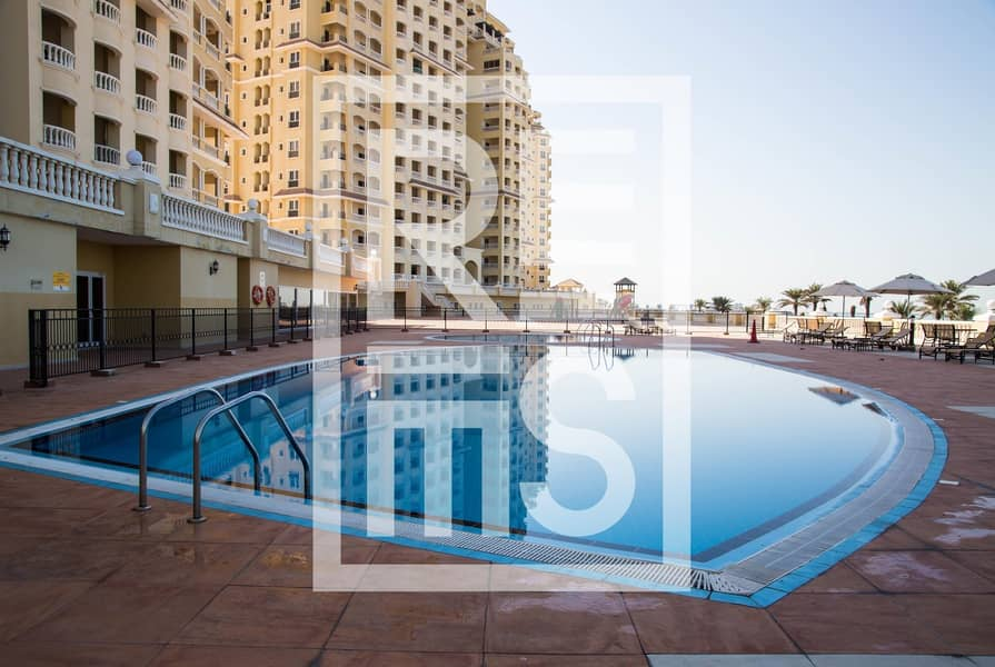 10 Best Price for Semi Furnished Sea View Studio