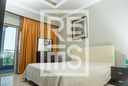فلیٹ 1 غرفة نوم للايجار في قرية الحمراء، رأس الخيمة - Fully furnished 1BR at Al Hamra Palace Beach Resort