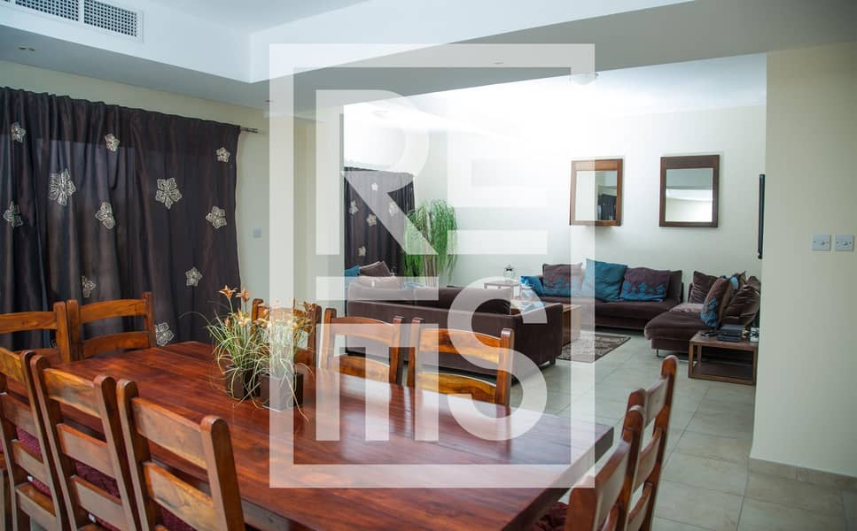 2 Furnished spacious 3BR Townhouse for Rent