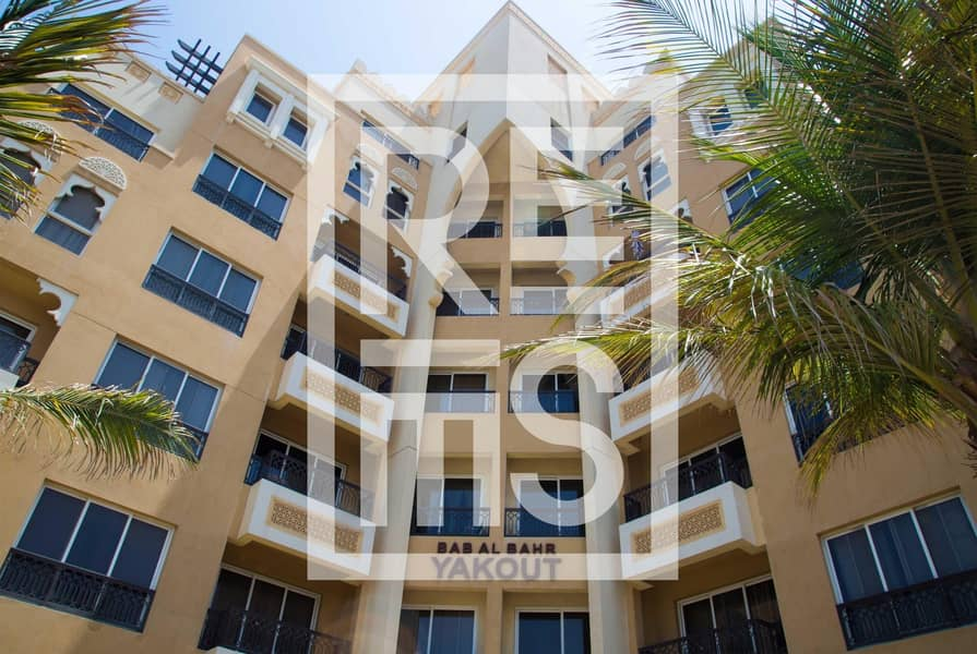 Large 3BR in The Bab Al Bahr Residences