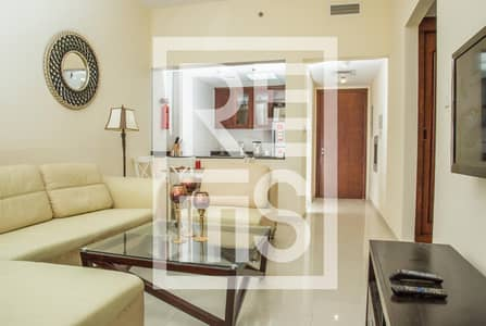 1 Bedroom Flat for Rent in Al Hamra Village, Ras Al Khaimah - Stylish Fully Furnished 1BR in Royal Breeze
