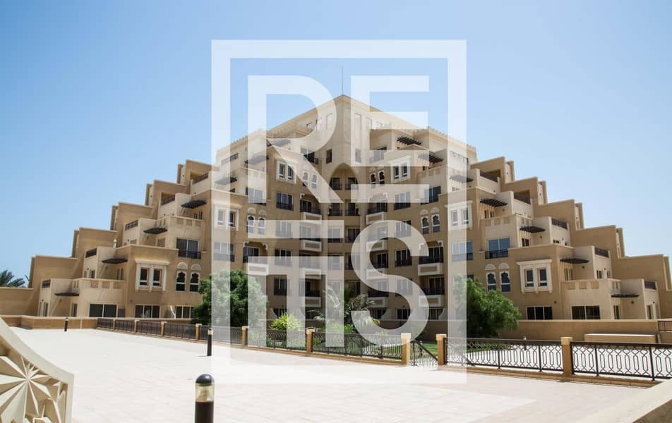 Spacious 2BR in The Bab Al Bahr Residences