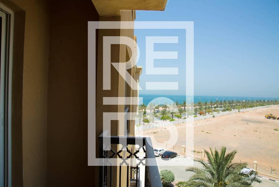 10 1 BR on Al Marjan Island with stunning Sea View