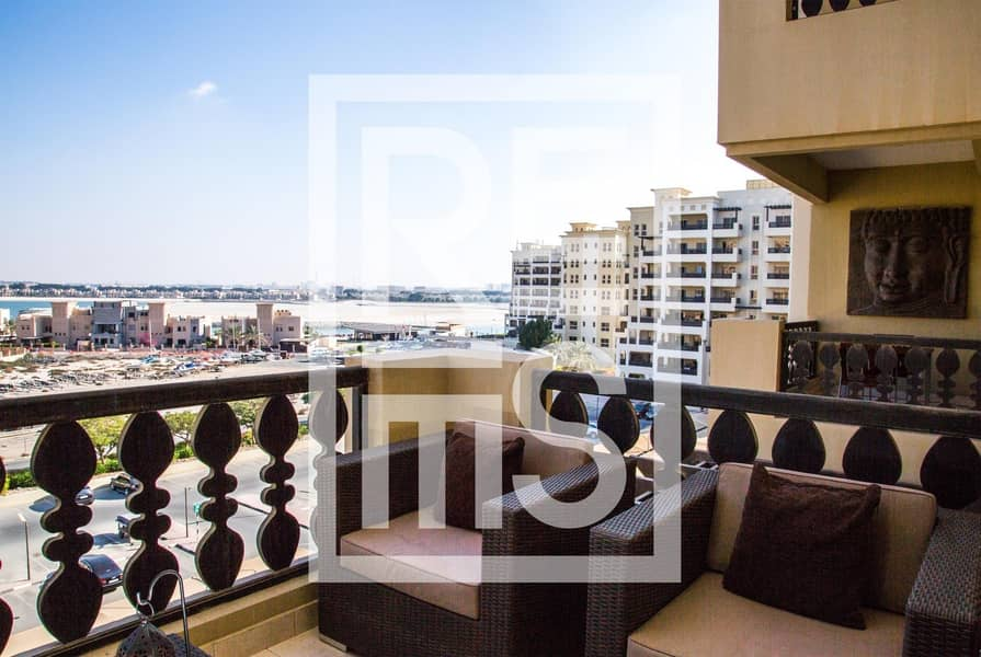 Fully furnished 1BR in The Marina Residences