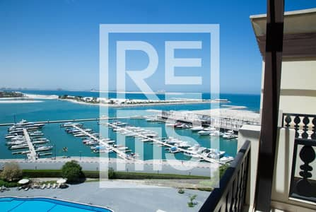 1 Bedroom Apartment for Sale in Al Hamra Village, Ras Al Khaimah - Stunning  Sea View 1BR in the Marina Residences