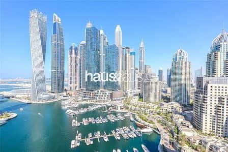 شقة 2 غرفة نوم للبيع في دبي مارينا، دبي - Full Marina View | 2 Bed + Maid | Call Rennie