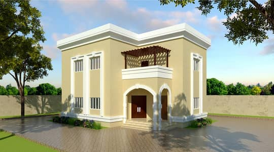 Residential land installment for 12 months from the owner Ajman directly at a special price
