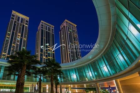 1 Bedroom Apartment for Rent in Al Reem Island, Abu Dhabi - Enjoy Living In This Unit with 5% Discount