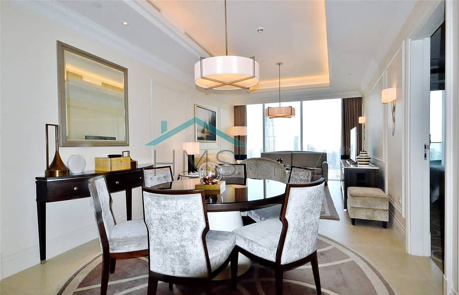 2 Available Febuary 1st | Furnished | Burj View