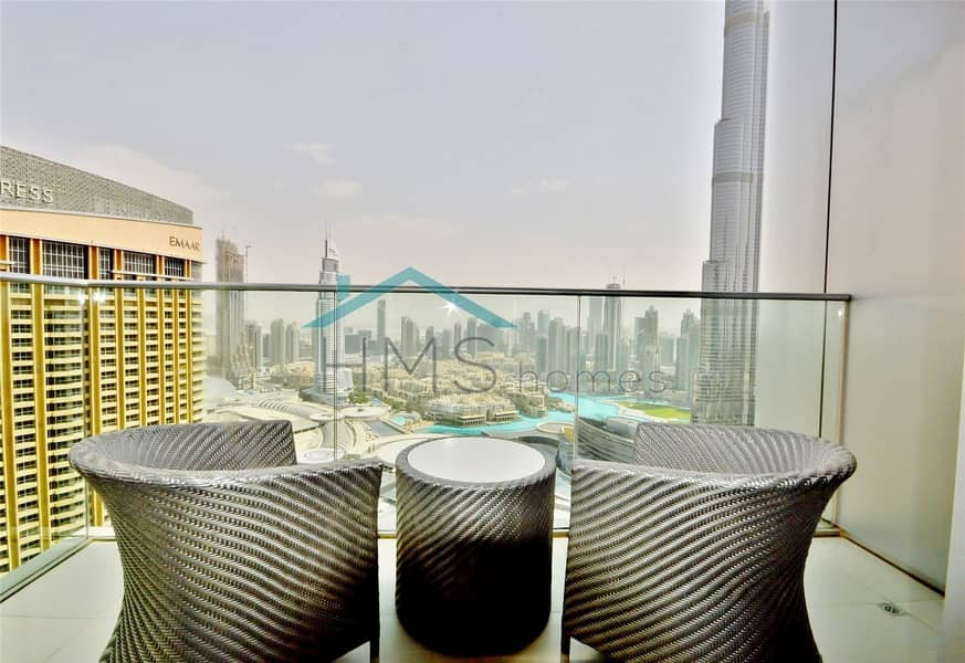 10 Available Febuary 1st | Furnished | Burj View