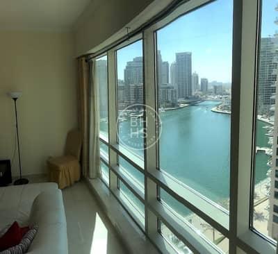 1 Bedroom Flat for Rent in Dubai Marina, Dubai - Furnished | Marina View | Chiller Free