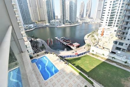 1 Bedroom Apartment for Rent in Dubai Marina, Dubai - Fully Furnished * Spacious * Marina View