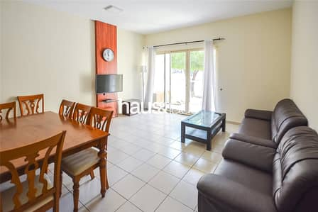 1 Bedroom Apartment for Rent in The Greens, Dubai - Ground floor   Vacant   Furnished  