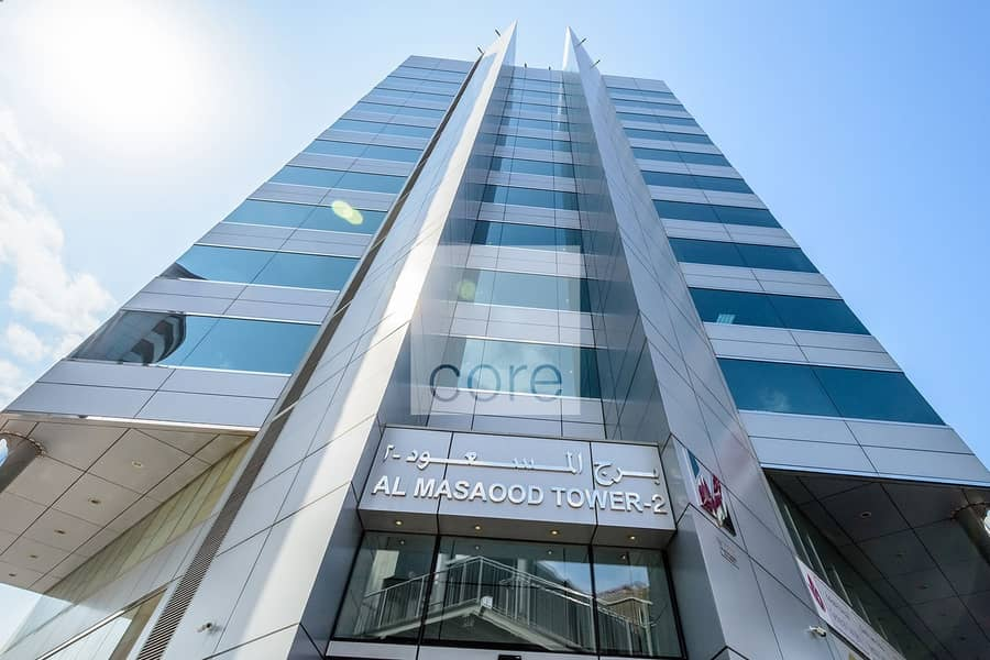 10 Well located fitted office | Al Masaood