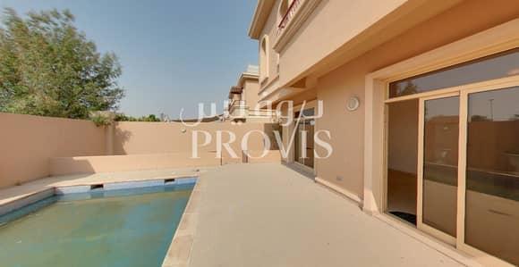 تاون هاوس 4 غرفة نوم للايجار في حدائق الجولف في الراحة، أبوظبي - A beautiful home with private pool and garden|2chq