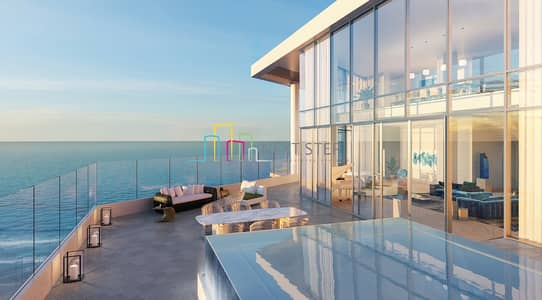 2 Bedroom Flat for Sale in Saadiyat Island, Abu Dhabi - Beach Front I Luxurious 3 BR Apartment with Terrace