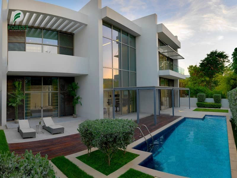 2 Large Corner Plot Brand New Contemporary 5BR Villa