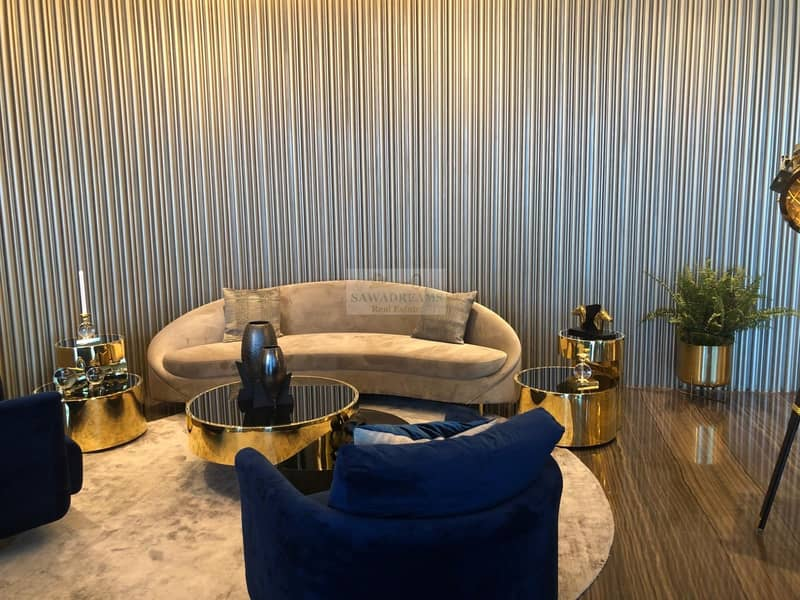 15 Burj Khalifa View!3Yrs Payment Plan!Luxury