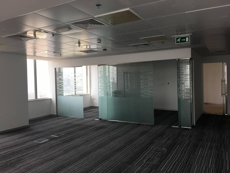 Fully Fitted Unique Office Space in Business Central Towers