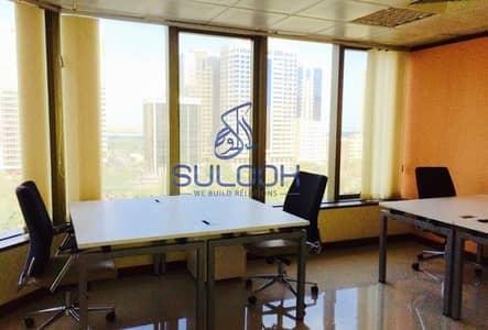 Office for Rent in Corniche Area, Abu Dhabi - Elegant Office including all facilities in Corniche