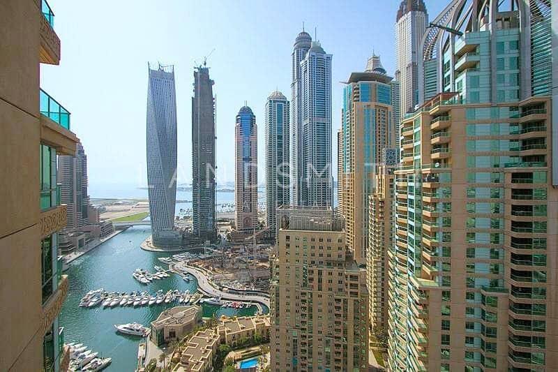 2  Marina Lake view 2BR Apt in Al Mesk Tower