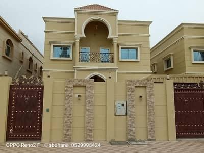 فیلا 5 غرفة نوم للبيع في المويهات، عجمان - فيلا تصميم عربي بمساحة كبيرة جدا مقابل مسجد تشطيب شخصي