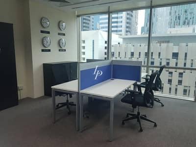 مکتب  للايجار في مركز دبي المالي العالمي، دبي - Fully Fitted Office in Liberty House