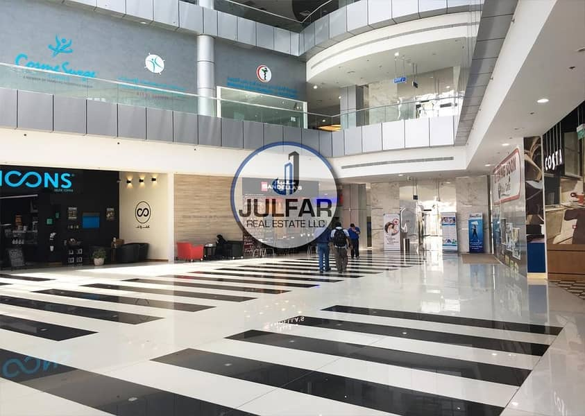 10 Special Offer >>Unfurnished Mountain View 1 BHK Apartment in Julphar Tower