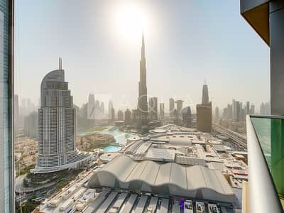 1 Bedroom Apartment for Sale in Downtown Dubai, Dubai - Fountain and Burj view| Lowest price on the market