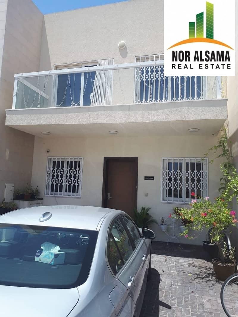 Corner..Souq Face Villa for Sale..Single Row..Al Warsan SP 1.4M