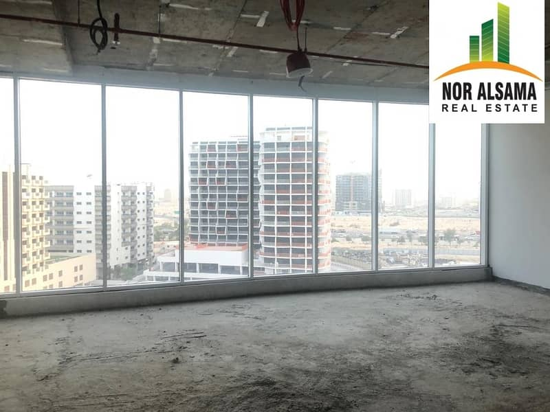 brand new 900 sqft offices for rent in lynx tower silicon oasis in 40000