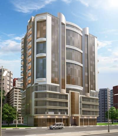 Plot for Sale in Al Aaliah, Ajman - For sale , Commercial land on Sheikh Mohammed bin Zayed road , ( G + 12 floors )  in Alealia area , Ajman