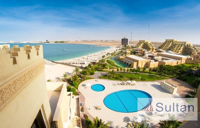 Sea View Unfurnished 1Bed in Bab Al Bahar