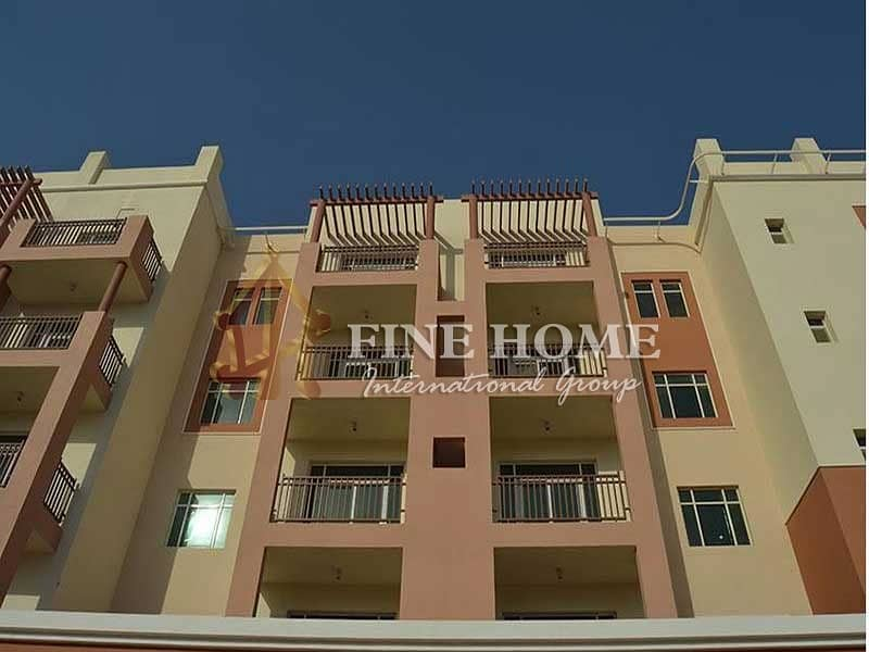 1 BR + Balcony Apartment in Al sabil . Al Ghadeer