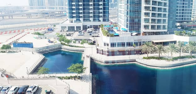 1 Bedroom Flat for Rent in Jumeirah Lake Towers (JLT), Dubai - Full Lake view 1 Bedroom in Icon Tower 1 JLT Dubai