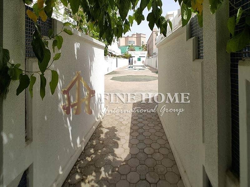 15 Nice 4BR Villa In  Al Nahyan Camp