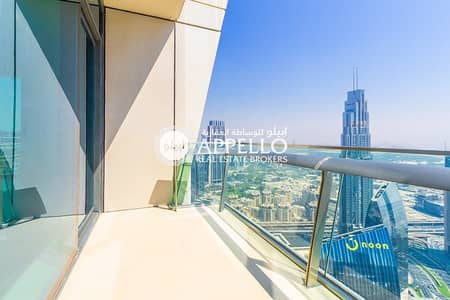 3 Bedroom Apartment for Rent in Downtown Dubai, Dubai - BEST DEAL  BURJ KHALIFA  VIEW 3 BEDROOMS