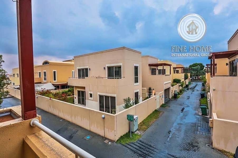 Corner Villa in Hemaim District .Al Raha Gardens