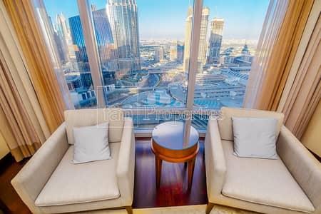 فلیٹ 2 غرفة نوم للبيع في وسط مدينة دبي، دبي - Fully Furnised 2Bed+ study Apart. in Burj Khalifa