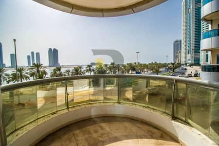 شقة 4 غرفة نوم للبيع في الخان، الشارقة - Spacious 4 Bedroom in AL KHAN Al Shahd Tower Low Floor