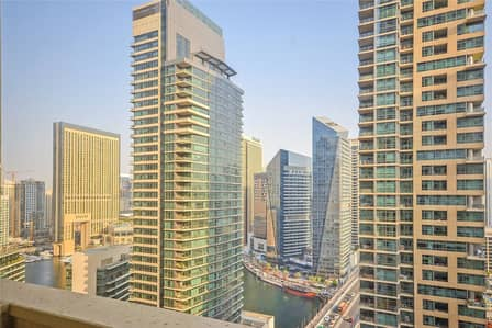 2 Bedroom Flat for Rent in Jumeirah Beach Residence (JBR), Dubai - Bright Bedroom | Marina View | Available